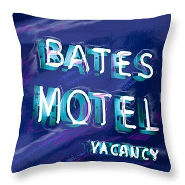You Check In But You Don't Check Out Throw Pillow