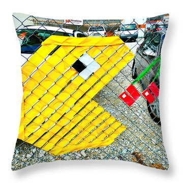 You Could Be Next  Throw Pillow by Steve Taylor
