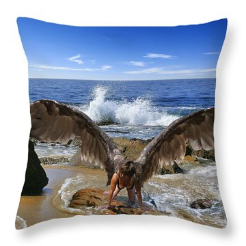 You Cried Out And I Came Throw Pillow