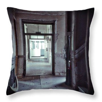 You Go First Throw Pillow