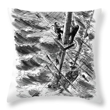 You Know What I'd Like To Try Someday? Throw Pillow