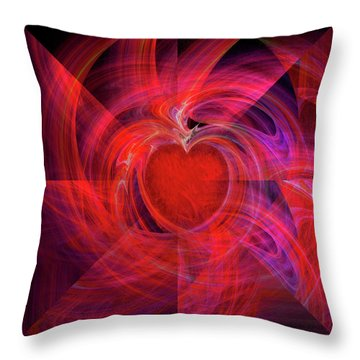 You Make My Heart Beat Faster Throw Pillow by Michael Durst