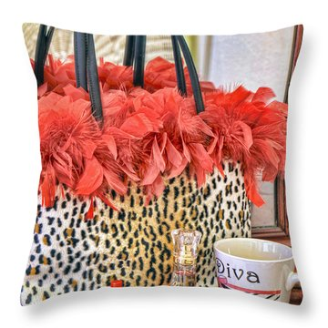 You Might Be A Diva... Throw Pillow
