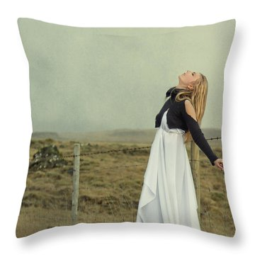 You Raise Me Up Throw Pillow by Evelina Kremsdorf