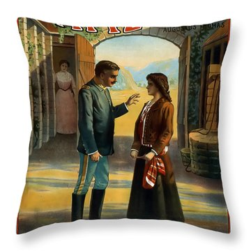 You Seem To Belong There Throw Pillow by Terry Reynoldson