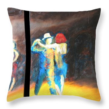 You Shine  Diptych Throw Pillow by Keith Thue