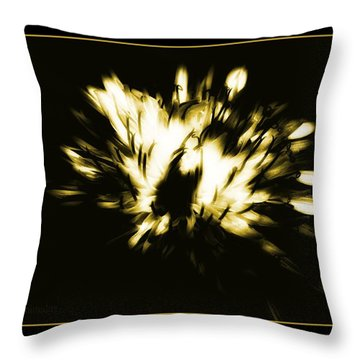 You Shine II Throw Pillow by Mimulux patricia no No