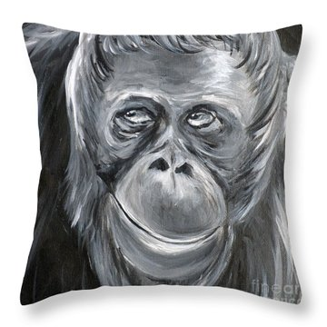 You Talkin' To Me? Throw Pillow
