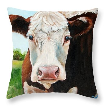 You Talking To Me Throw Pillow