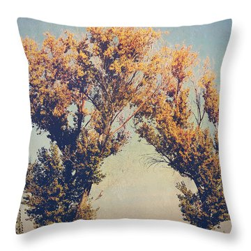 You Were Meant For Me Throw Pillow by Laurie Search