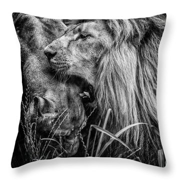 You Will Be Queen Throw Pillow