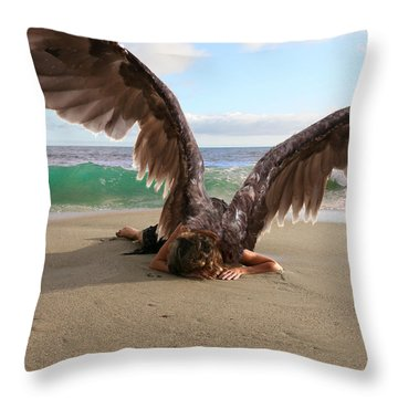 You Will Not All Sleep Throw Pillow