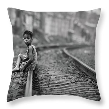 Railway Throw Pillows