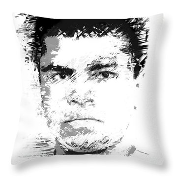 Young Cassius Clay Throw Pillow
