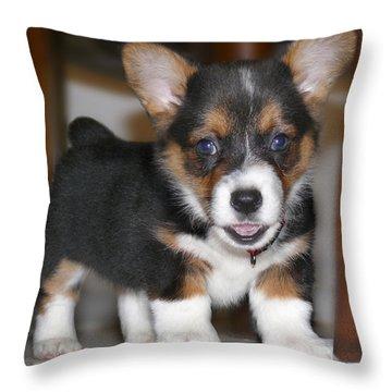 Young Otis Ray 3 Throw Pillow