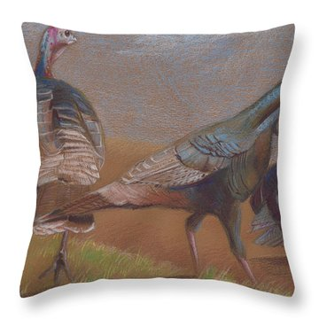 Young Toms Throw Pillow