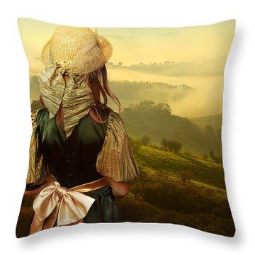 Young Traveller Throw Pillow