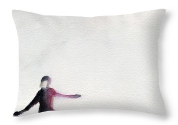 In Ice Throw Pillows