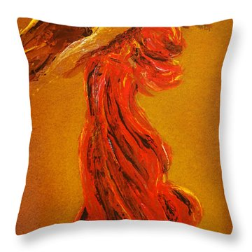 Your Angel Is Waiting Throw Pillow
