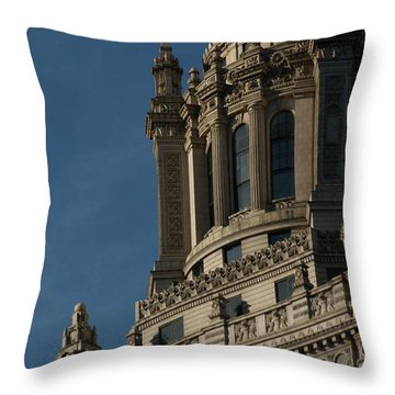 Your Guess Throw Pillow by Joseph Yarbrough