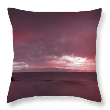 Your Innocent Smile Used To Drive Me Wild Throw Pillow