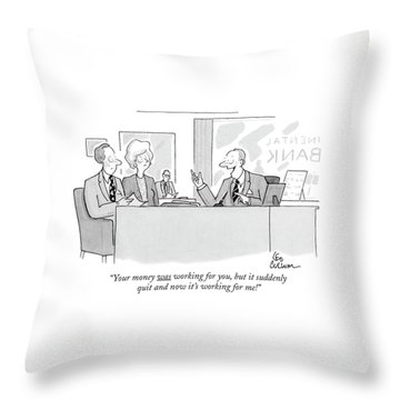 Bankers Throw Pillows