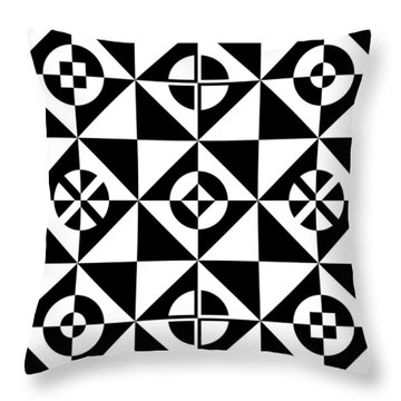 Your Move Throw Pillow by Mike McGlothlen
