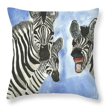 Your So Funny Throw Pillow by Tracey Williams