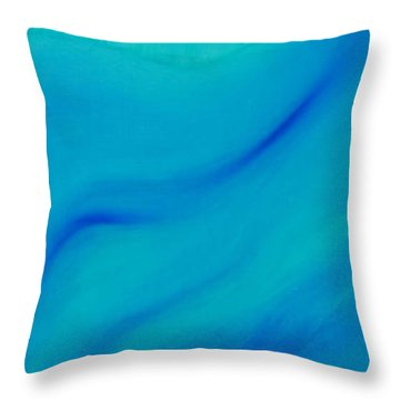Your Wave Mirrored Throw Pillow