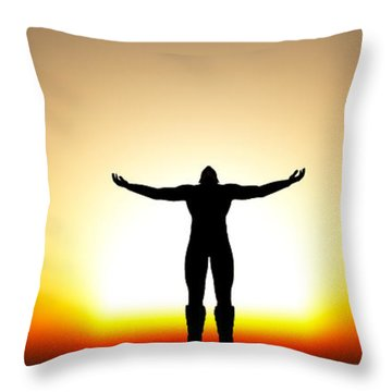 Your Will Be Done... Throw Pillow
