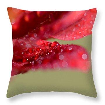 You're Everywhere Throw Pillow by Melanie Moraga