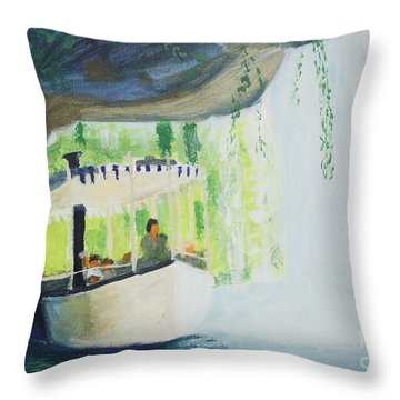 You're In De Nile Throw Pillow