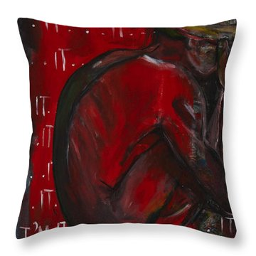 Youre It Throw Pillow by Darlene Graeser