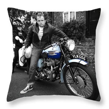 You're Nicked Throw Pillow by Mark Rogan