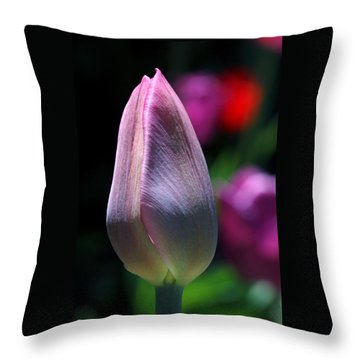Youth And Beauty Throw Pillow by Rona Black