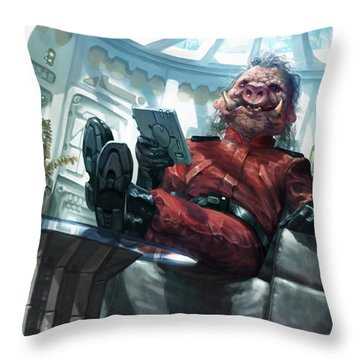 Yoxgit Throw Pillow