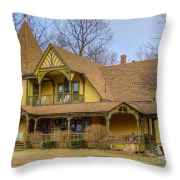 Ypsilanti's Grand Old Dames And Lovely Ladies #2 Throw Pillow