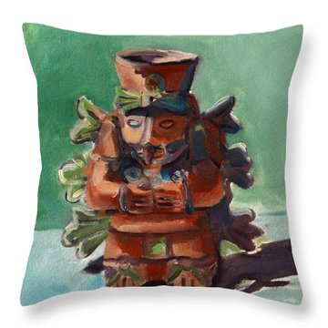 Yucatan Prince Throw Pillow