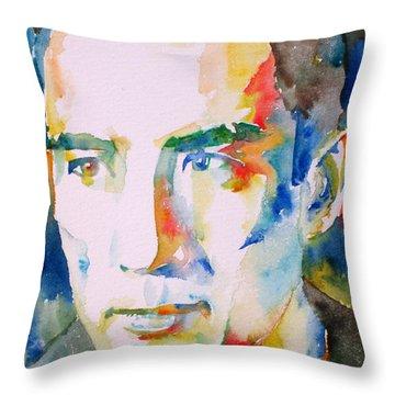 Yukio Mishima Throw Pillow