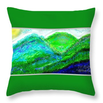 Van Gogh Sunrise Throw Pillow