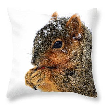 Yummy Throw Pillow by Marcia Colelli