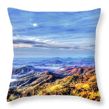 Yury Bashkin The Wideness And Beautiful Throw Pillow by Yury Bashkin
