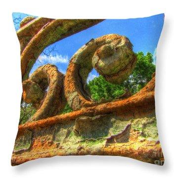 Yury Bashkin Throw Pillow by Yury Bashkin