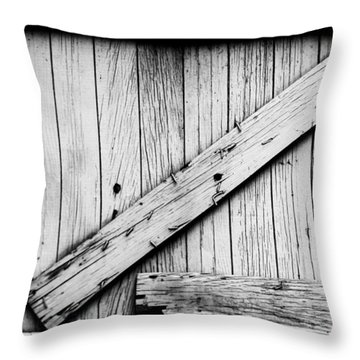 Z Throw Pillow by Kelly Hazel