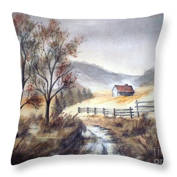 Zagorski Puteljak Throw Pillow