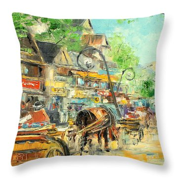 Zakopane - Poland Throw Pillow