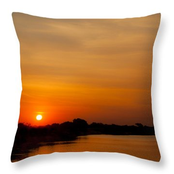 Zambezi Light Throw Pillow