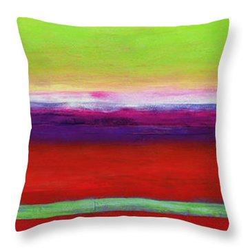 Color Field Throw Pillows