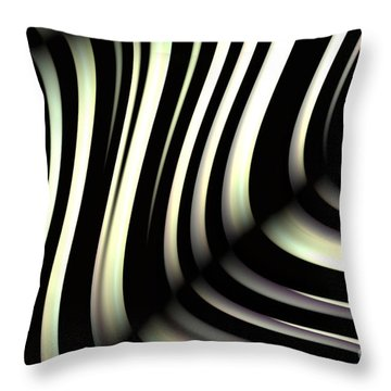 Zeebraa Throw Pillow