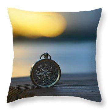 Zen Scape Throw Pillow